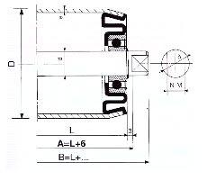 Rouleaux de precision type N 35