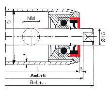 Rouleaux de precision type VBA 35