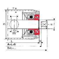 Rouleaux de precision type VN 35
